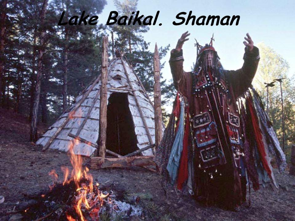 Lake Baikal. Shaman