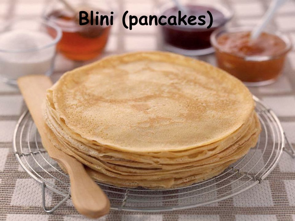 Blini (pancakes)
