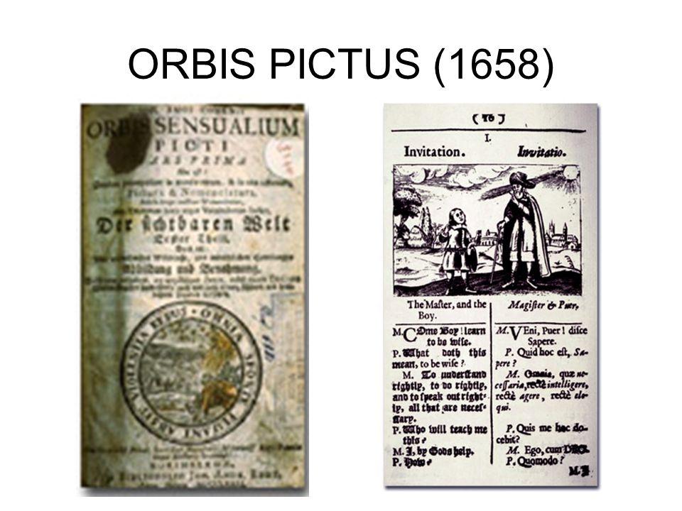 ORBIS PICTUS (1658)