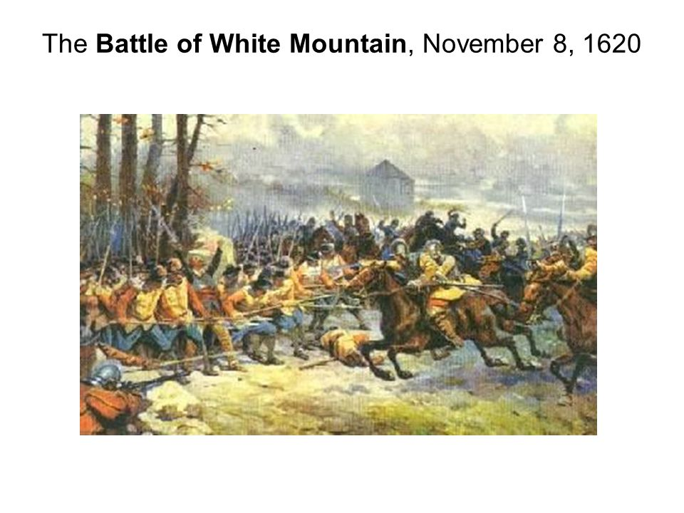 The Battle of White Mountain, November 8, 1620