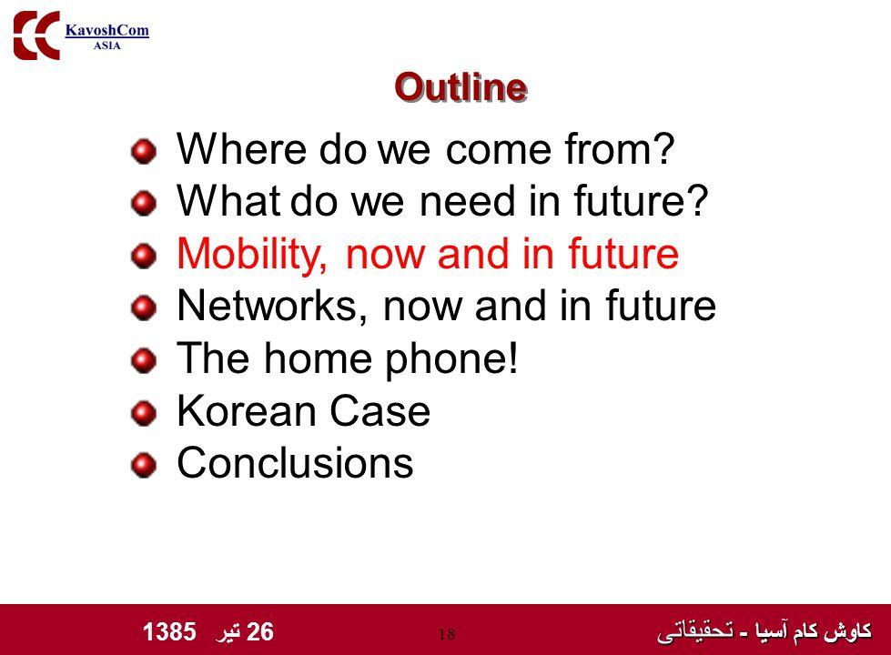 کاوش کام آسیا - تحقیقاتی کاوش کام آسیا - تحقیقاتی 26 تیر 1385 18 Where do we come from.
