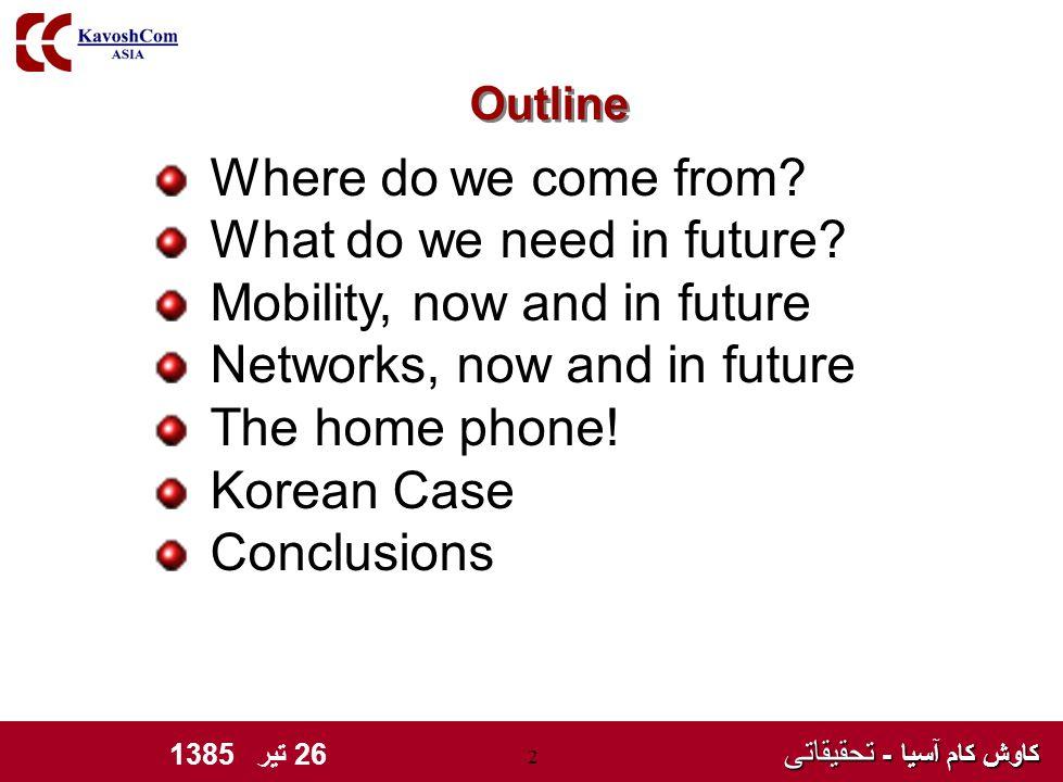 کاوش کام آسیا - تحقیقاتی کاوش کام آسیا - تحقیقاتی 26 تیر 1385 2 Where do we come from.