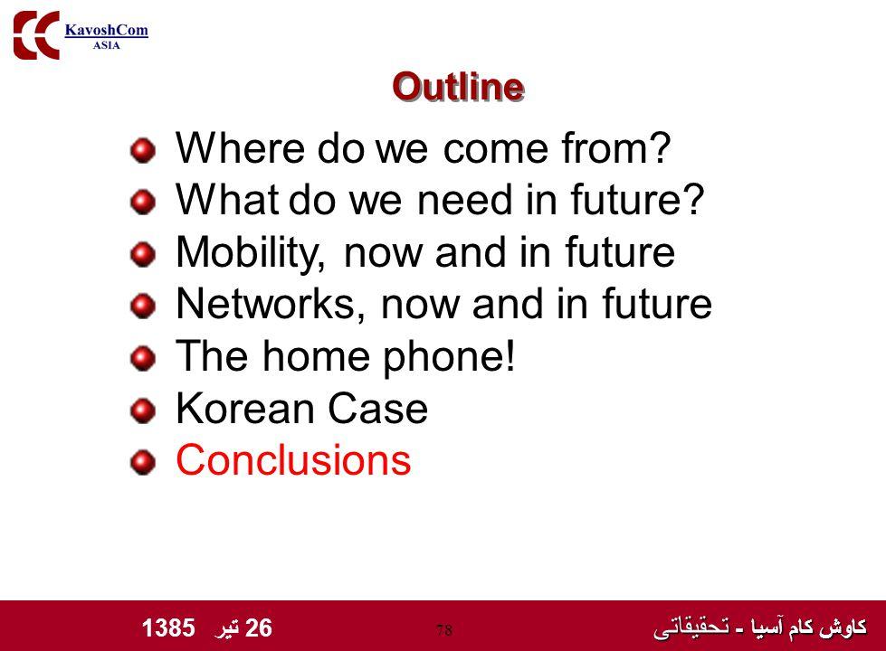 کاوش کام آسیا - تحقیقاتی کاوش کام آسیا - تحقیقاتی 26 تیر 1385 78 Where do we come from.