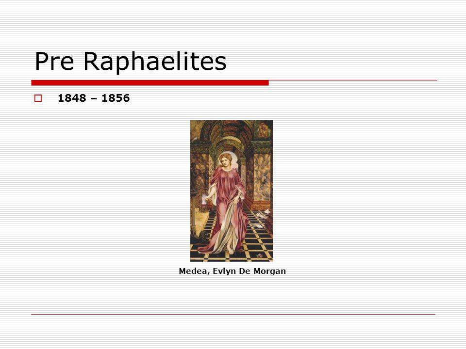 Pre Raphaelites 1848 – 1856 Medea, Evlyn De Morgan