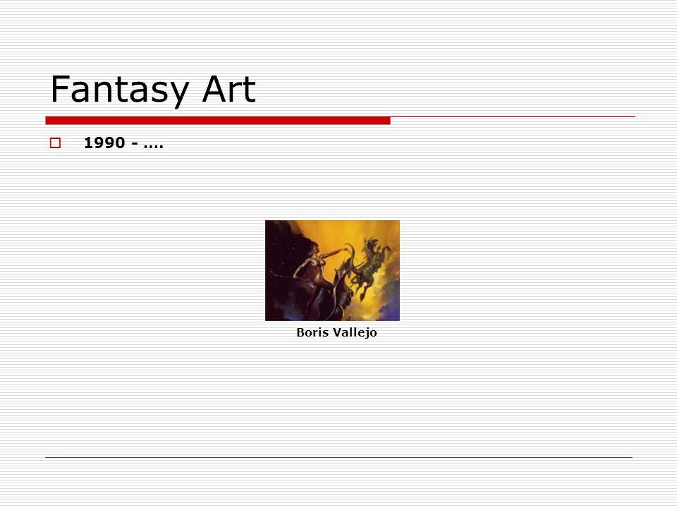 Fantasy Art 1990 - …. Boris Vallejo