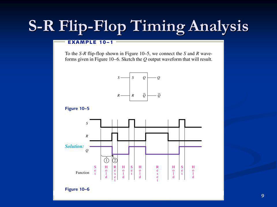 S-R Flip-Flop Timing Analysis 9