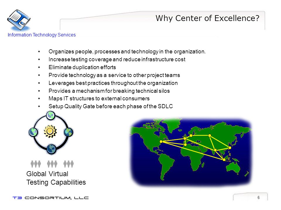 6 Why Center of Excellence.