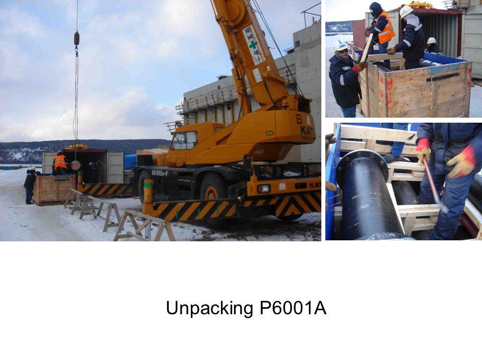 Unpacking P6001A
