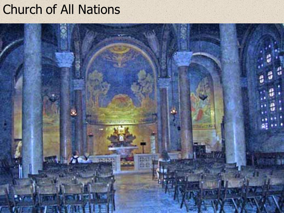 Gethsemane: Church of All Nations