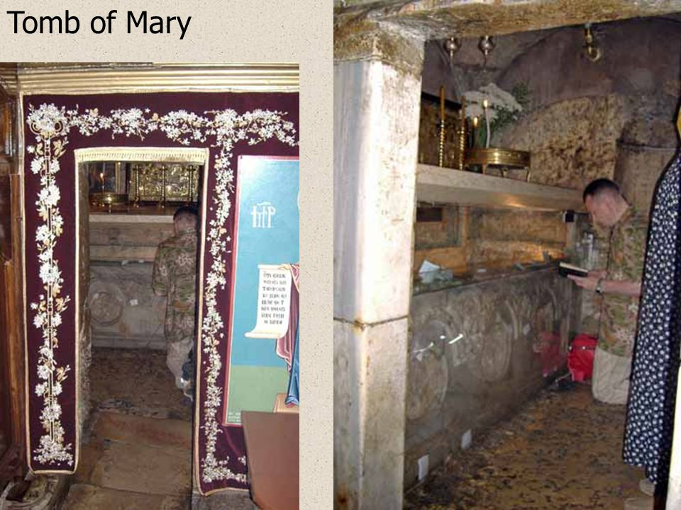 The Cavern of Agony, Tomb of Mary