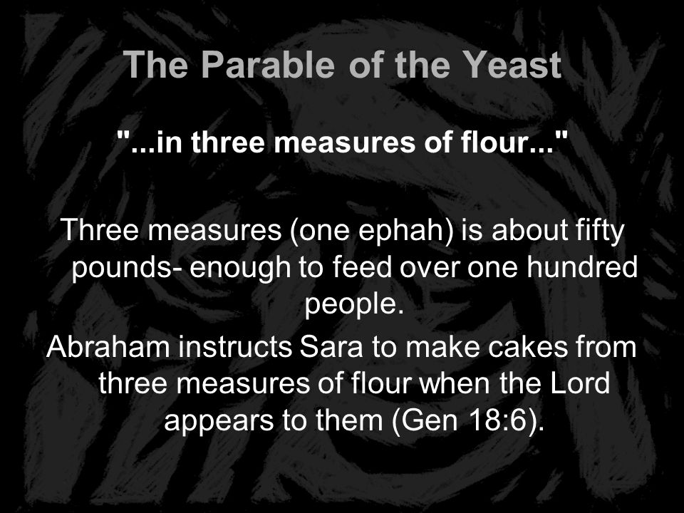 The Parable of the Yeast