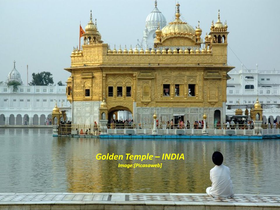 Golden Temple – INDIA Image:[Picasaweb]