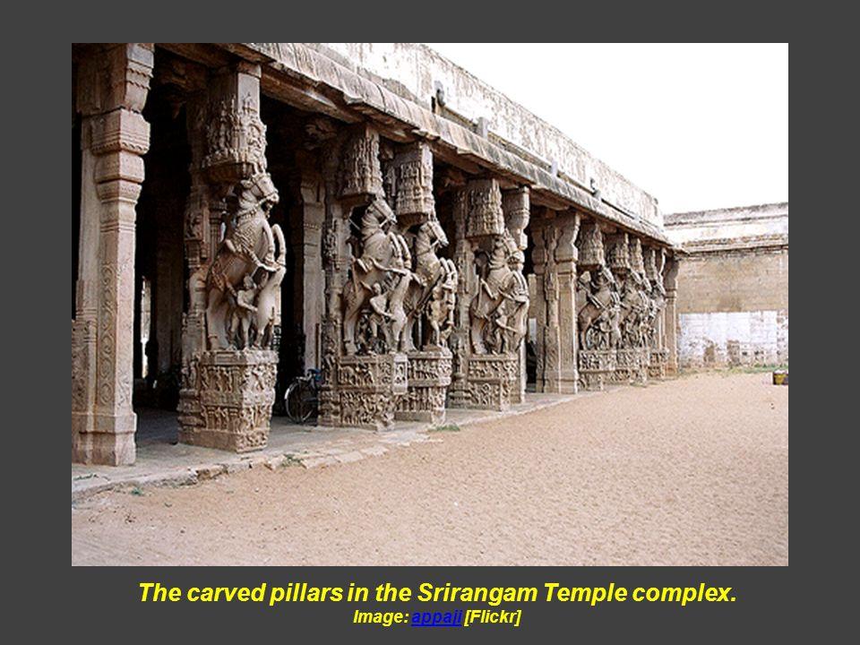 Vishnu Temple of Srirangam – INDIA Image:[Picasaweb]