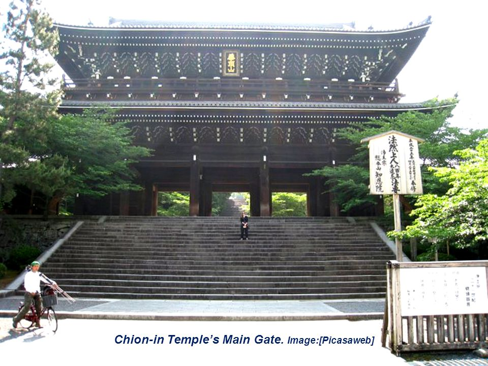 Chion-in Temples Main Gate. Image:[Picasaweb]
