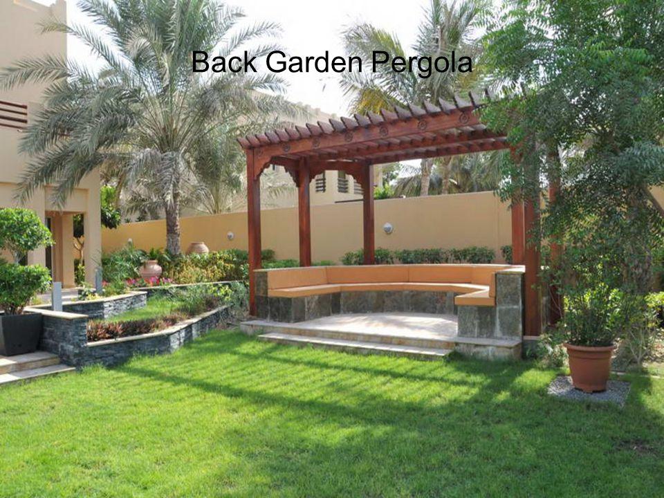Back Garden Pergola
