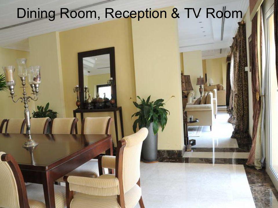 Dining Room, Reception & TV Room
