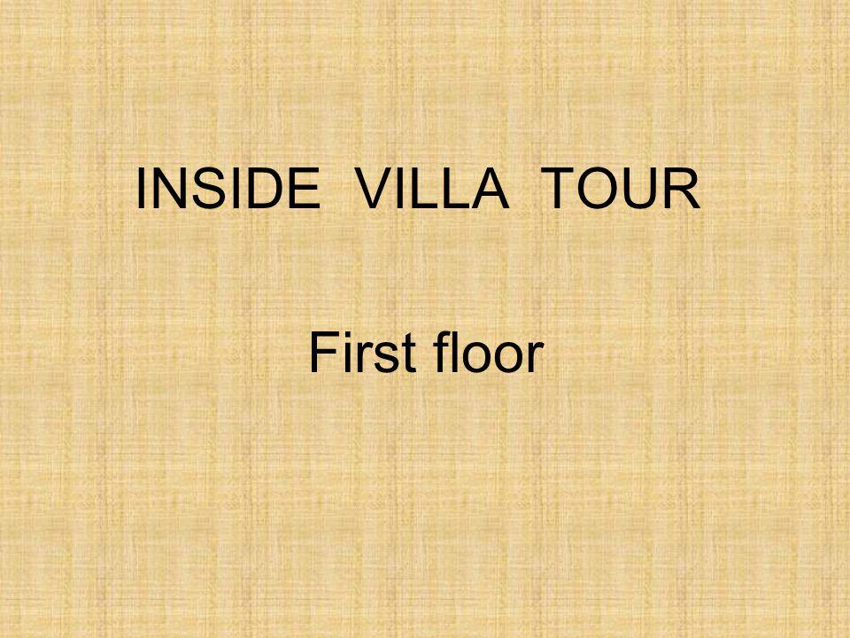 INSIDE VILLA TOUR First floor