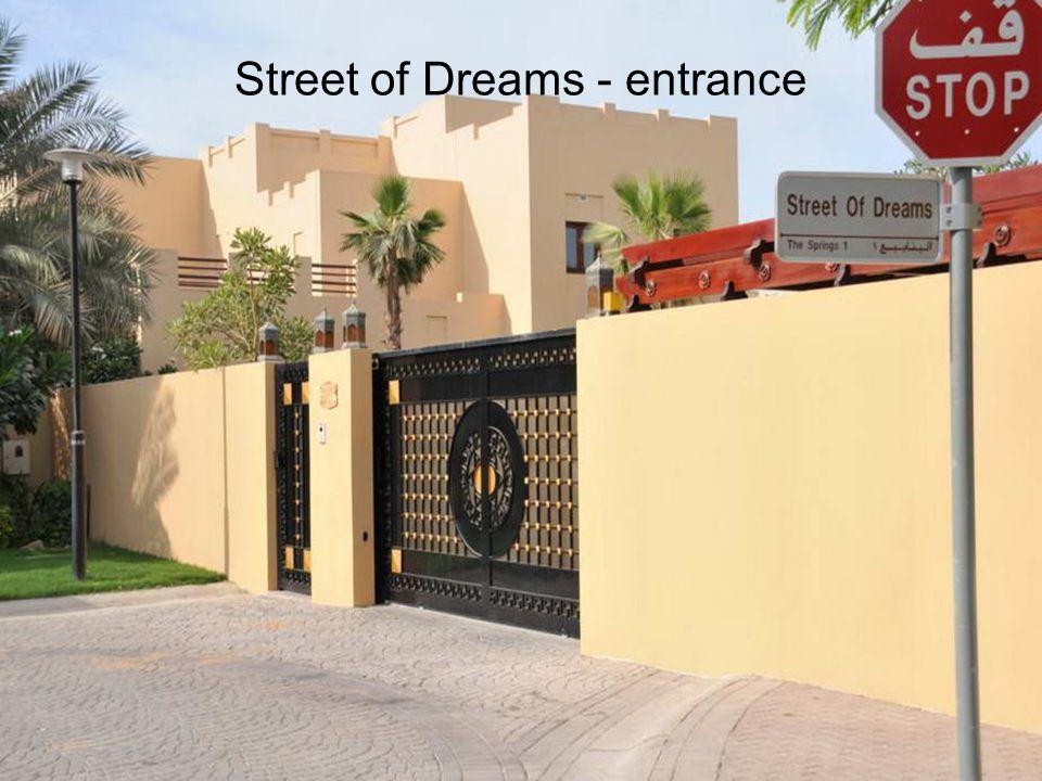 Street of Dreams - entrance