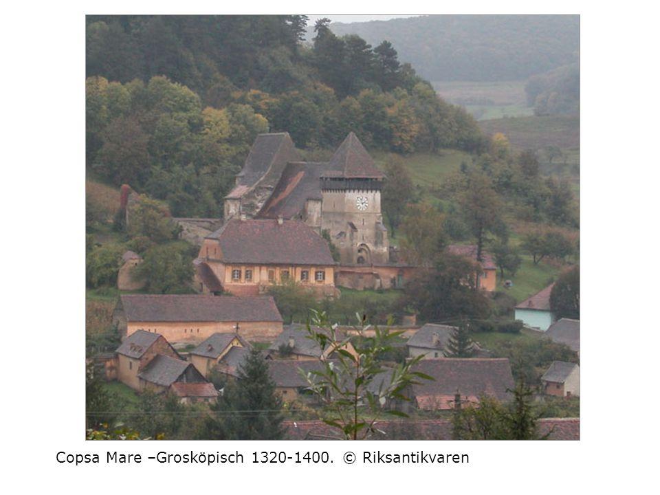 Copsa Mare –Grosköpisch 1320-1400. © Riksantikvaren