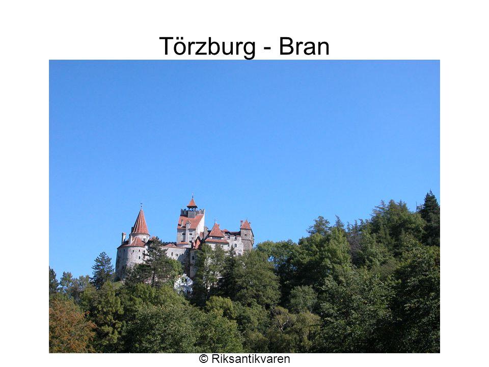 Törzburg - Bran © Riksantikvaren