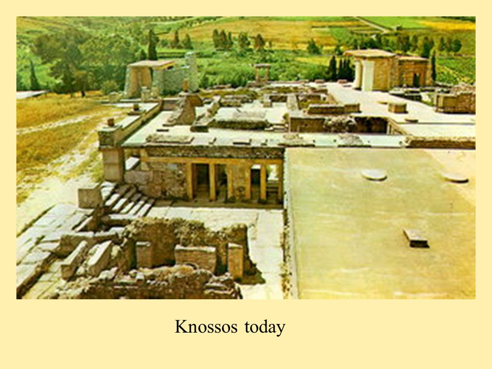 Knossos today