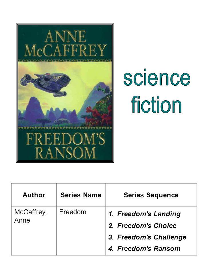 AuthorSeries NameSeries Sequence McCaffrey, Anne Harper Hall 1.