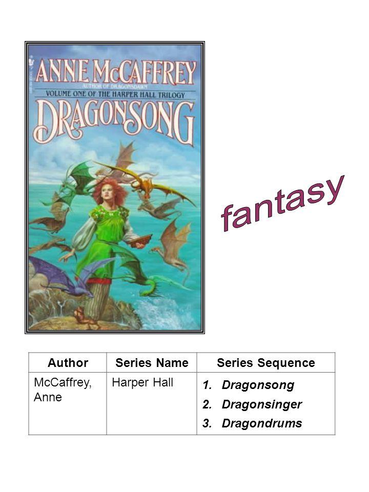 AuthorSeries NameSeries Sequence Wasserman, Robin Chasing Yesterday 1.Awakening 2.