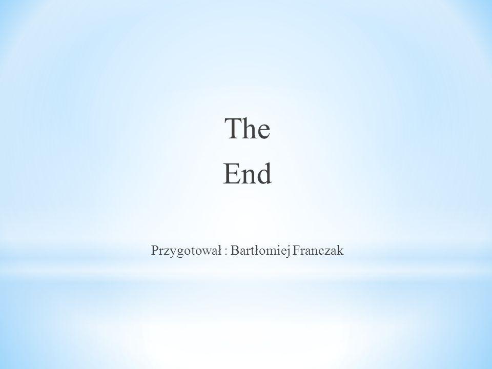 The End Przygotował : Bartłomiej Franczak