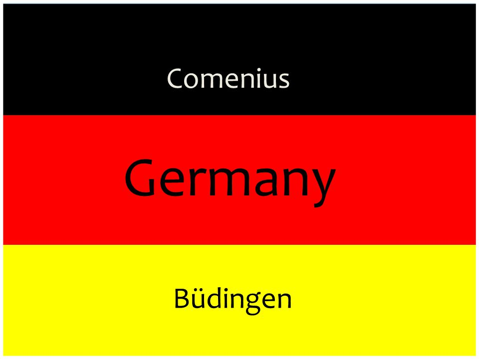 Germany Comenius Büdingen