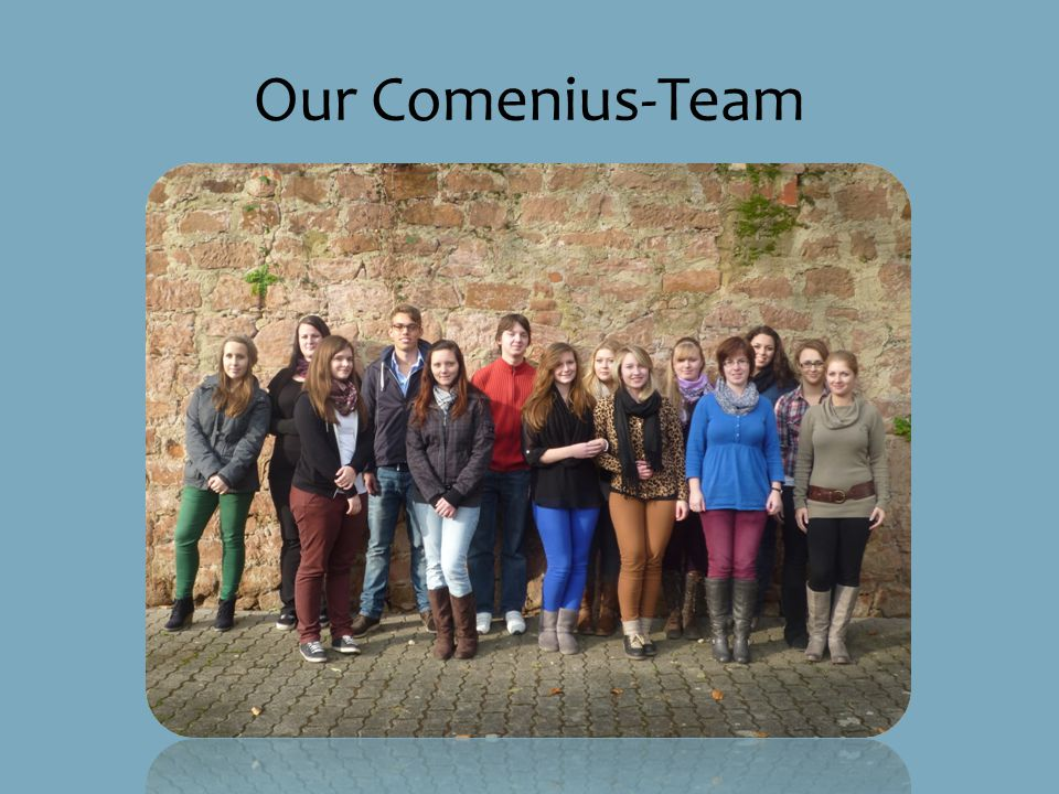 Our Comenius-Team