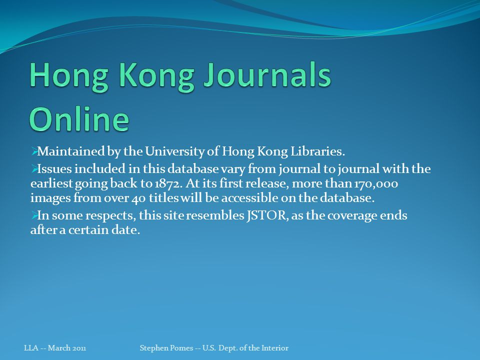 Maintained by the University of Hong Kong Libraries.