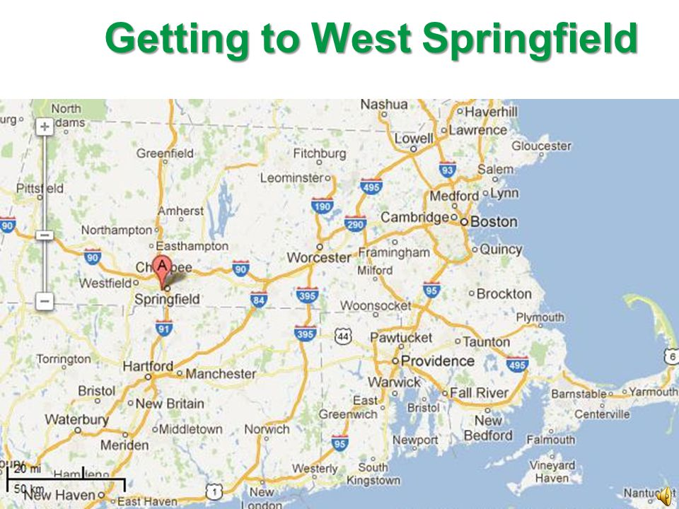 Getting to West Springfield