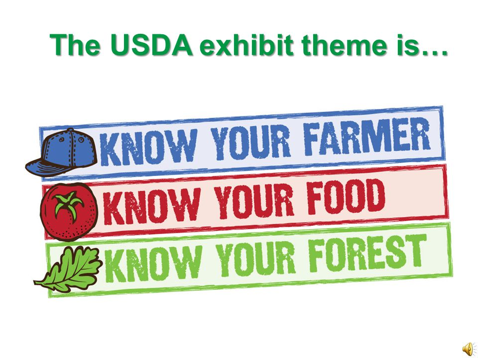 Do Engage the public.Be friendly and helpful. Present a professional and positive image of USDA.