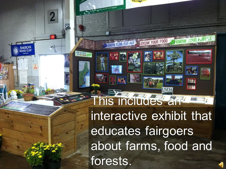 The USDA exhibit theme is…