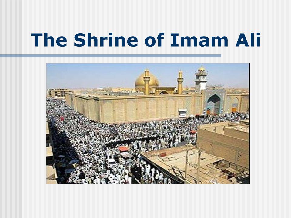 The Shrine of Imam Ali