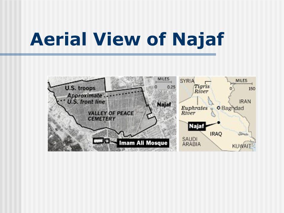 Aerial View of Najaf