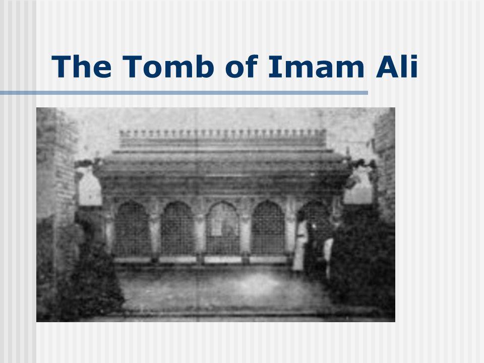 The Tomb of Imam Ali