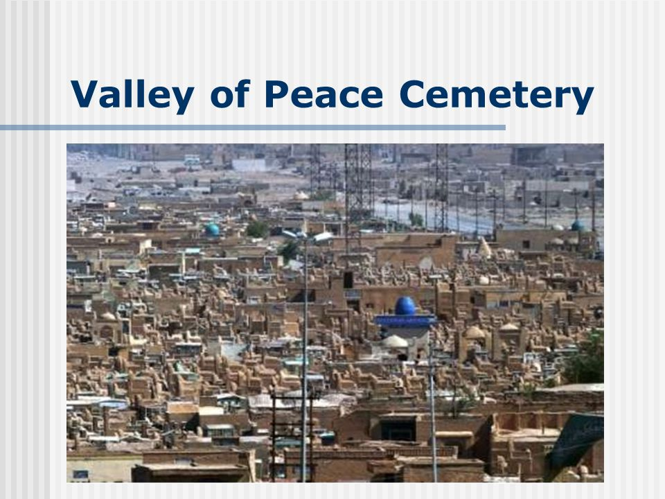 Valley of Peace Cemetery