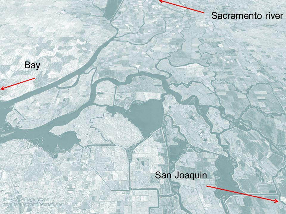 4 4 San Joaquin Sacramento river Bay