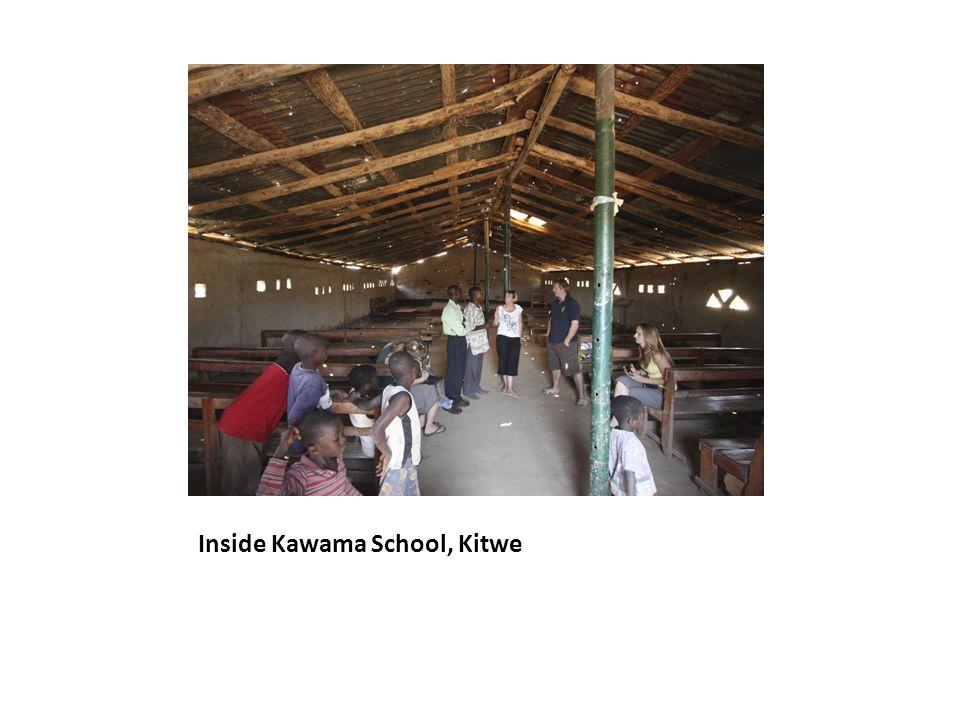 Inside Kawama School, Kitwe
