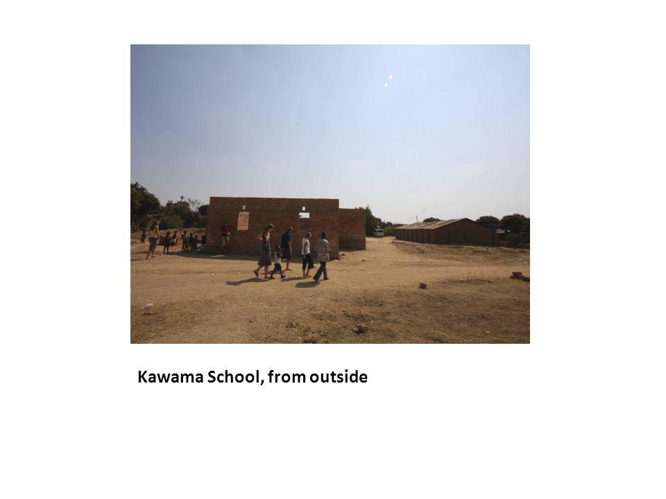 Kawama School, from outside