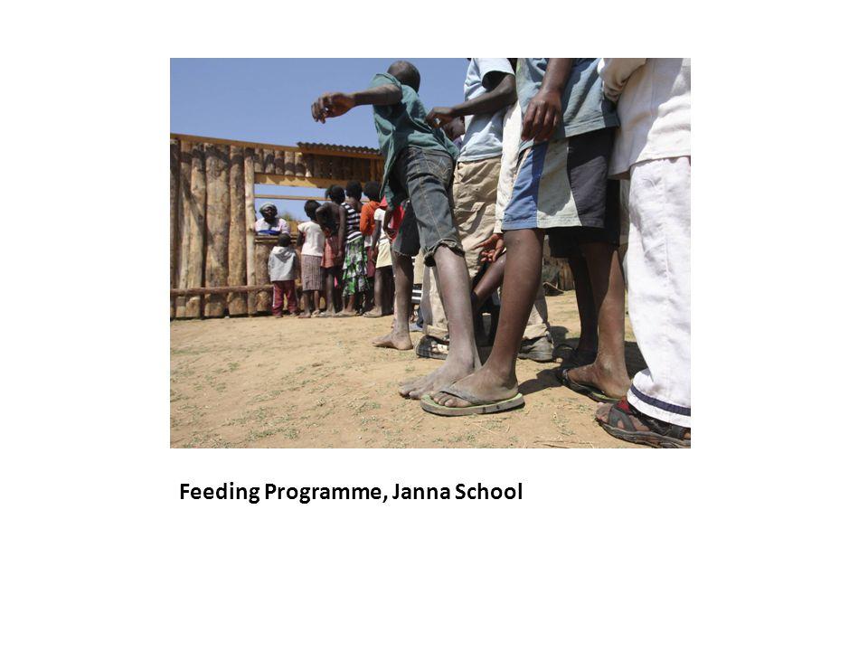 Feeding Programme, Janna School