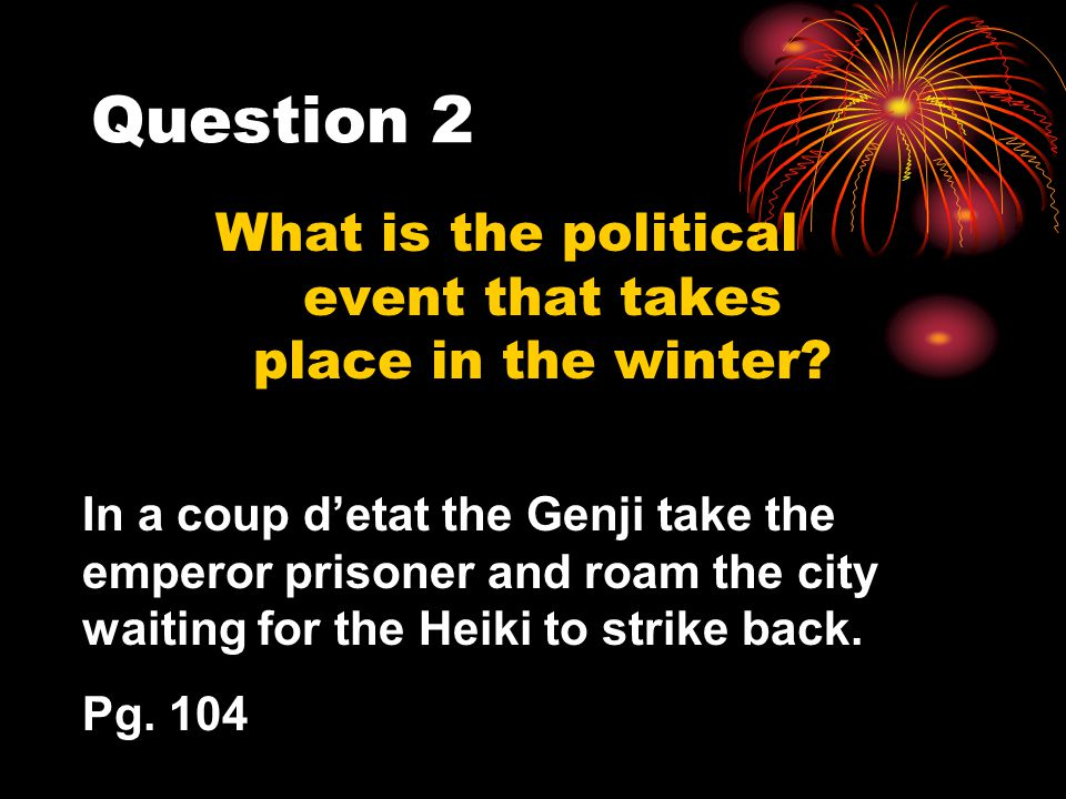 Question 3 What does Muna see that prompts him to go and dig up the sword.