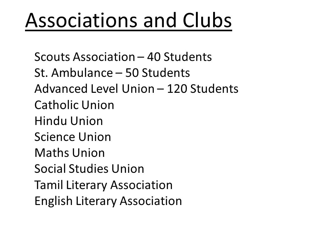 Scouts Association – 40 Students St.