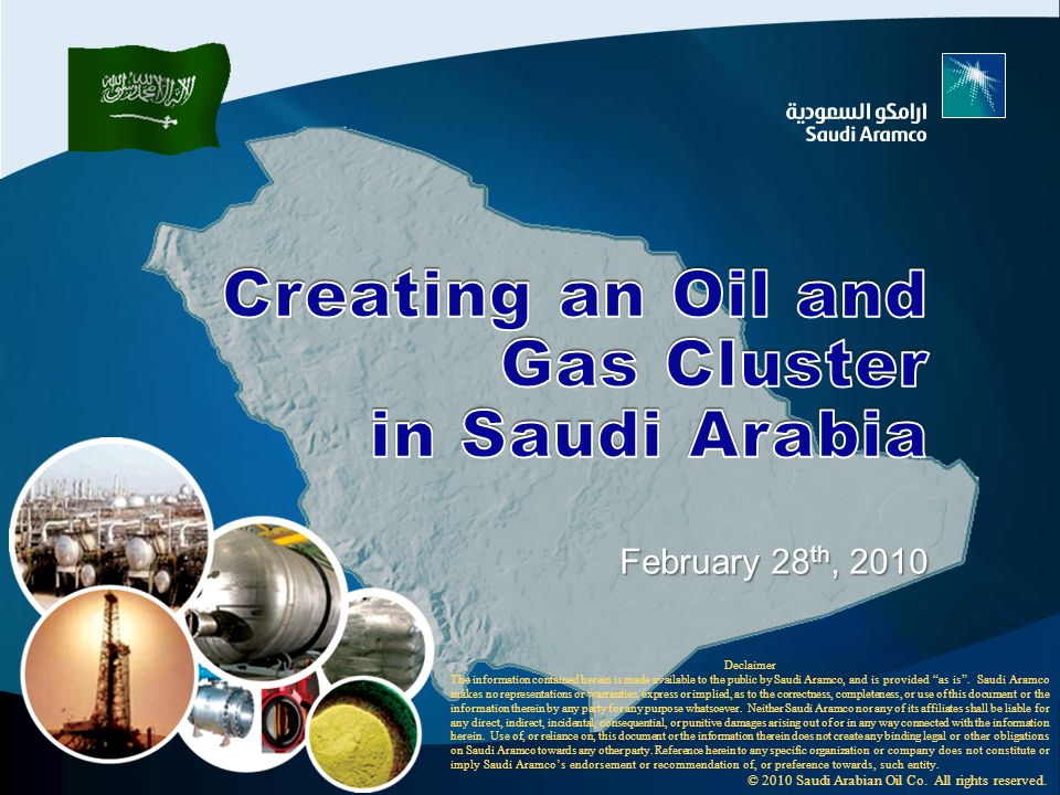 Outline Background Background Functions…Methodology Functions…Methodology Investment Opportunities Investment Opportunities SA new initiative SA new initiative Background Functions Methodology Functions Methodology Investment Opportunities SA new initiative © 2010 Saudi Arabian Oil Co.