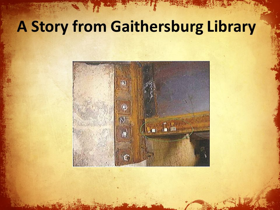 A Story from Gaithersburg Library