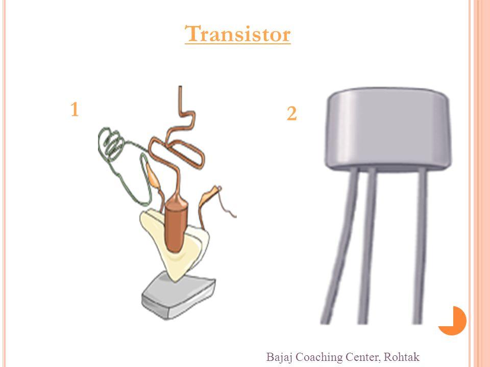 Transistor 1 2 Bajaj Coaching Center, Rohtak