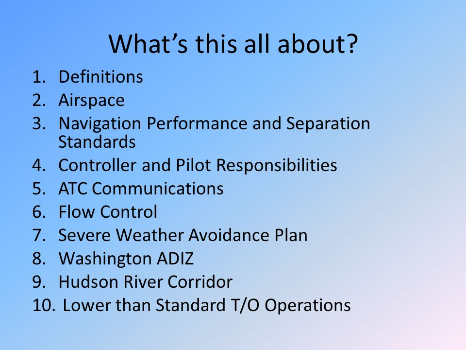Separation Standards Separation will be provided between all aircraft operating on IFR flight plans except during that part of the flight (outside Class B airspace or a TRSA) being conducted on a VFR-on-top/VFR conditions clearance.