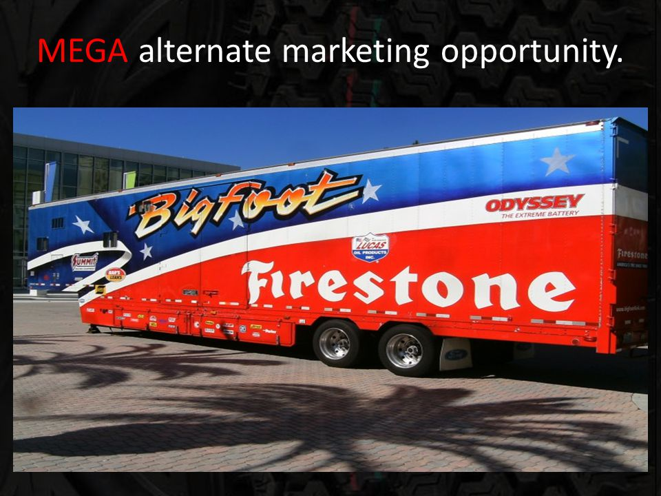 MEGA alternate marketing opportunity.