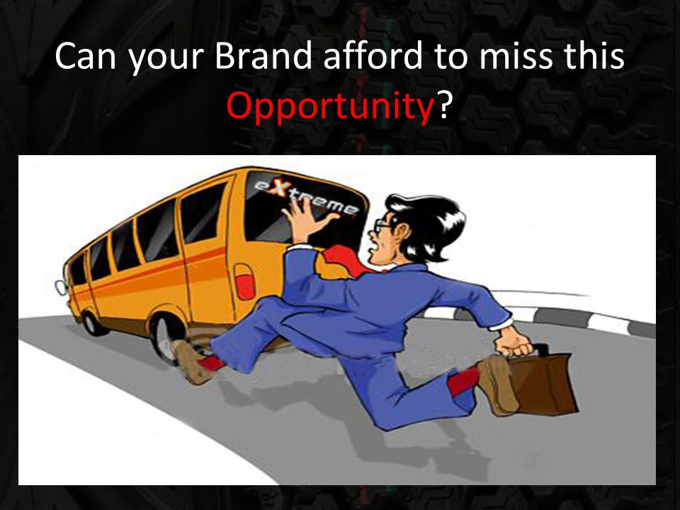 Can your Brand afford to miss this Opportunity